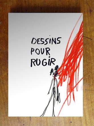 DESSINS POUR RUGIR COUVERTURE