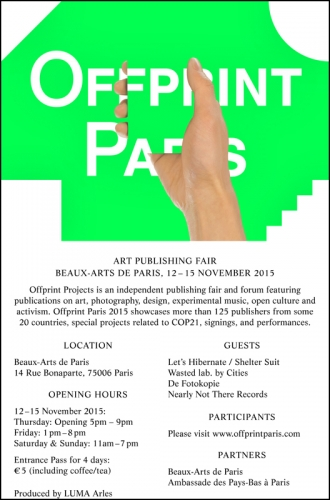 OFFPRINT PARIS 2015