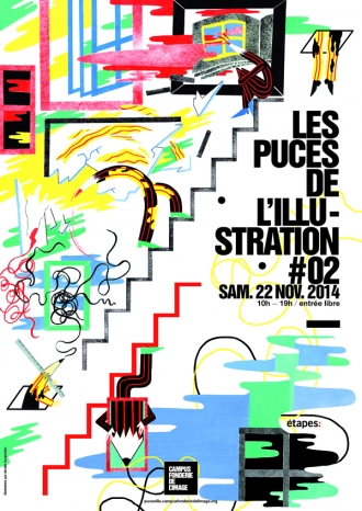 PUCES DE L'ILLUSTRATION