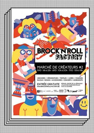 AFFICHE BROCK'N'ROLL